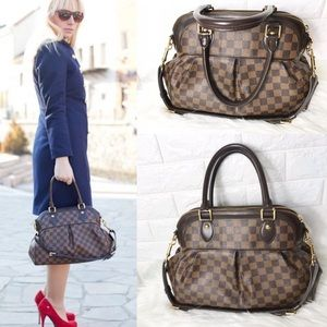 ❤️FIRM! RETIRED ❤️ZIPPER TREVI LOUIS VUITTON